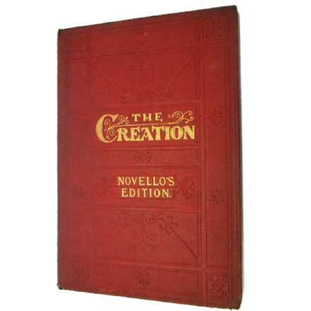 The Creation by J.Haydn - Novello's Edition
